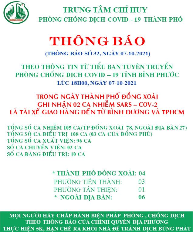 Trung tâm chỉ huy phòng chống dịch covid - 19 thành phố Đồng Xoài