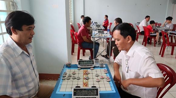 Đồng Xoài: 73 vận động viên thi đấu môn cờ vua và cờ tướng trong đại hội thể dục thể thao thành phố lần thứ VI.