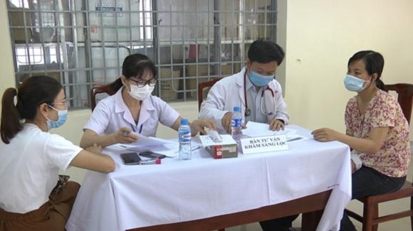 Thành phố Đồng Xoài: Tiêm vacxin phòng covid-19 đạt 105%.