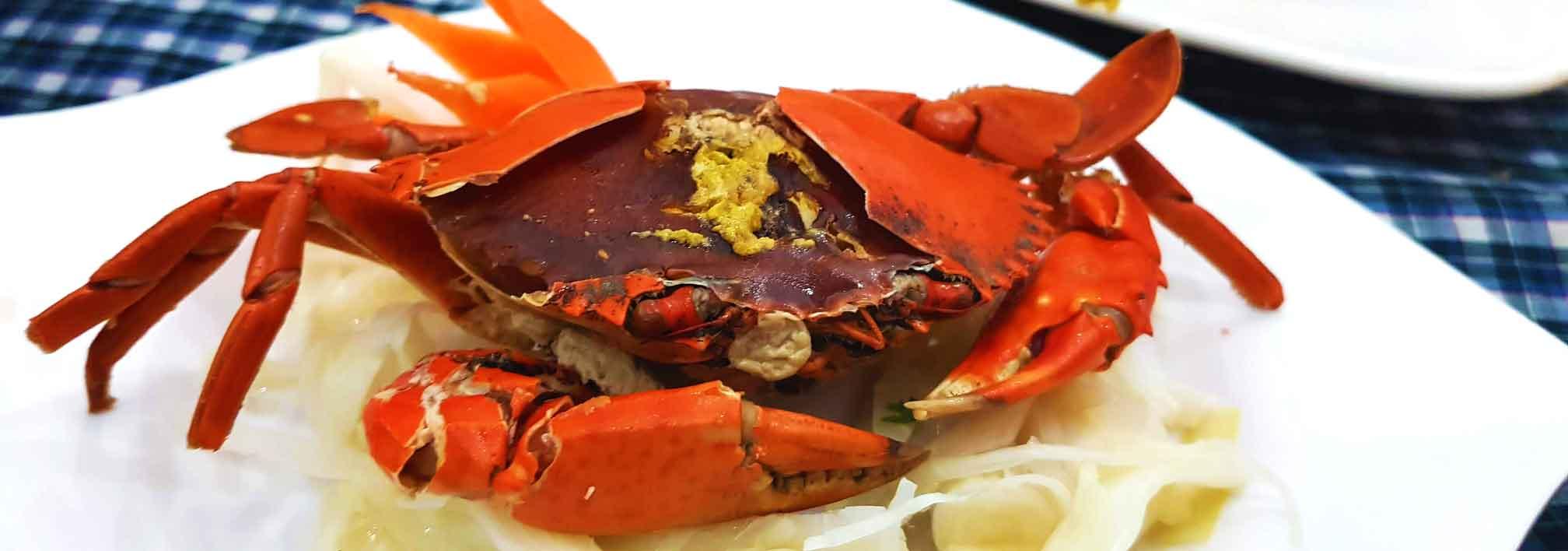 Ít người biết rằng, các món ăn từ cua biển là liều tăng lực rất tốt, giúp quý ông duy trì phong độ và không gây tác dụng phụ. Các món ăn từ cua biển giúp bổ thận tráng dương, chữa chứng liệt dương.